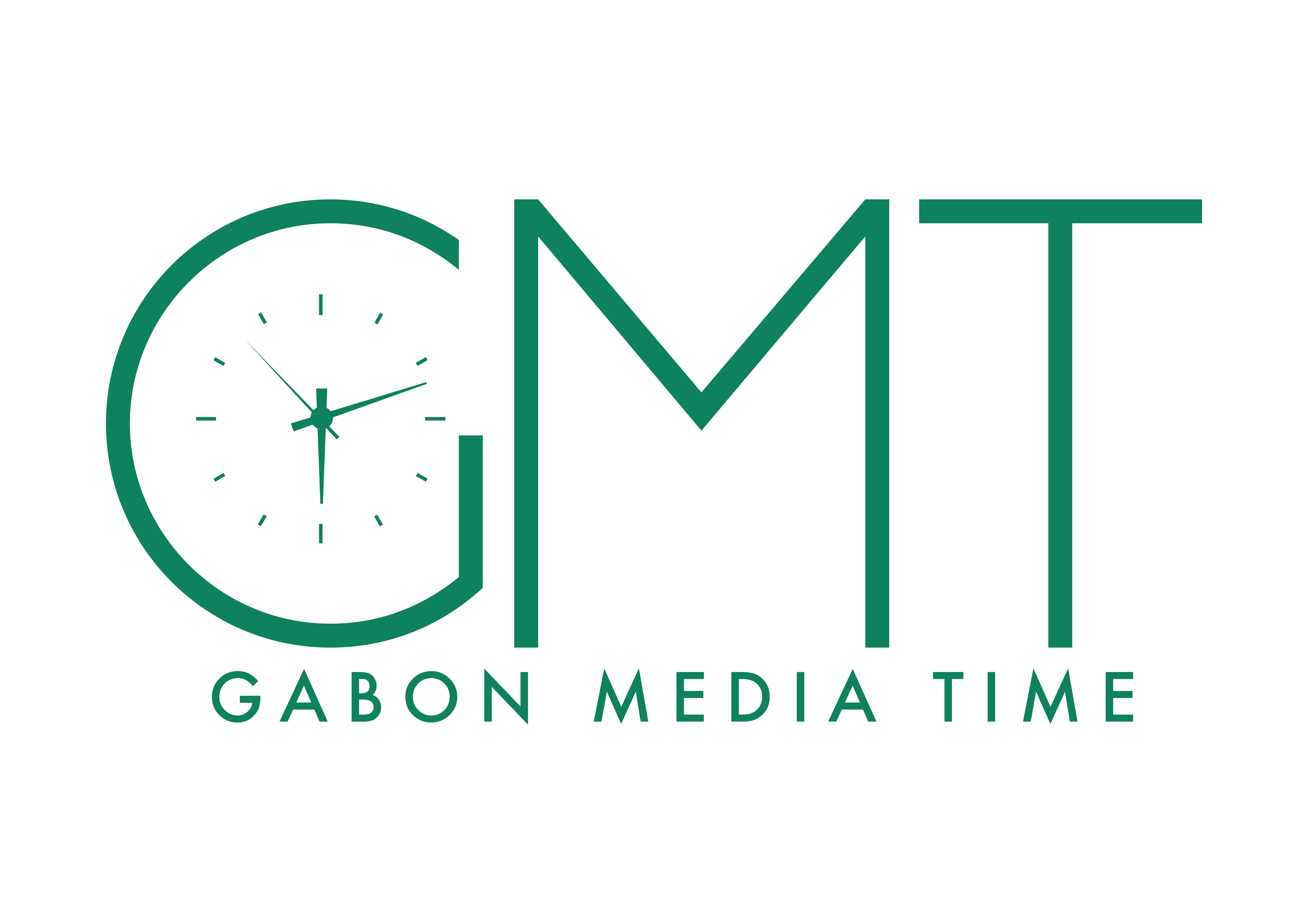 Logo officiel Gabon Media Time